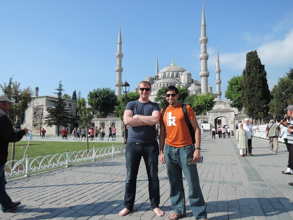 Ja a Arpan u Modre Mesity v Istanbulu