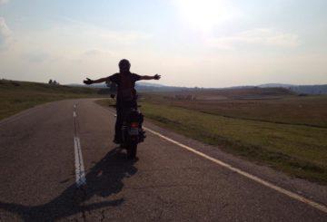 Cestopis balkán na motorkách