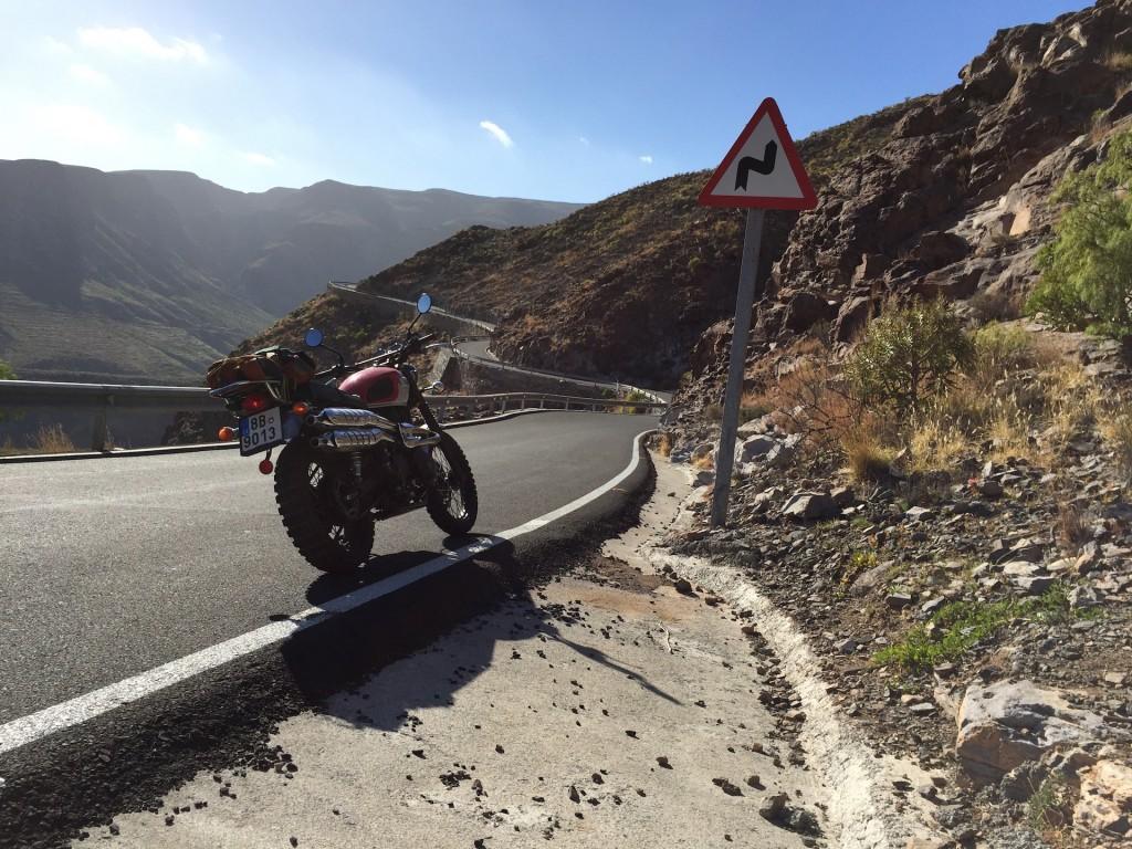 Triumph Scrambler Gran Canaria
