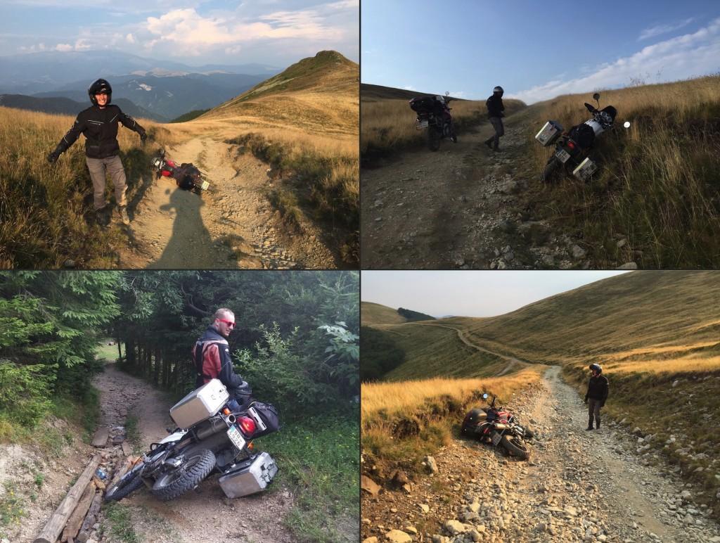 Pady v Rumunsku