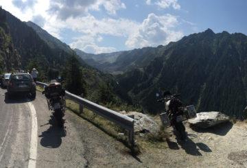 Rumunsko na motorce