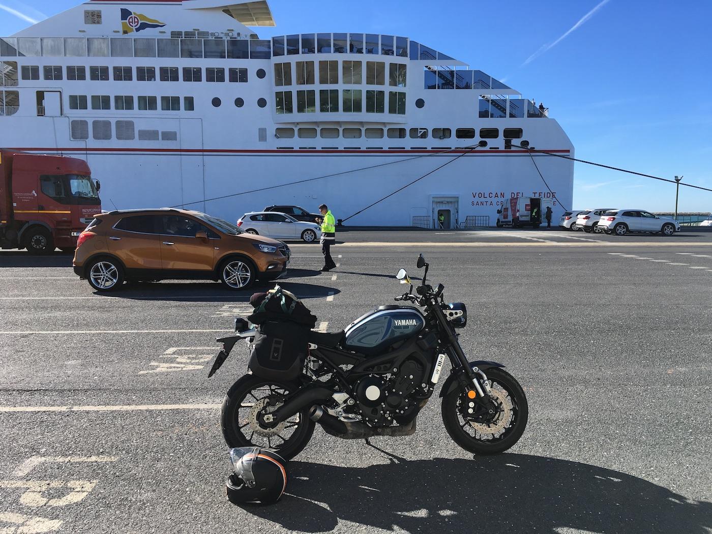 Yamaha XSR 900 trajekt