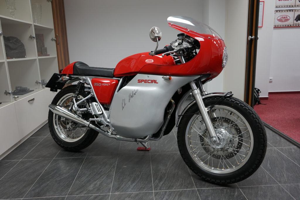 Jawa 350 OHC Special - fotografie