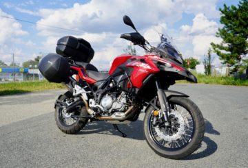 Benelli TRK 502X Test motorky