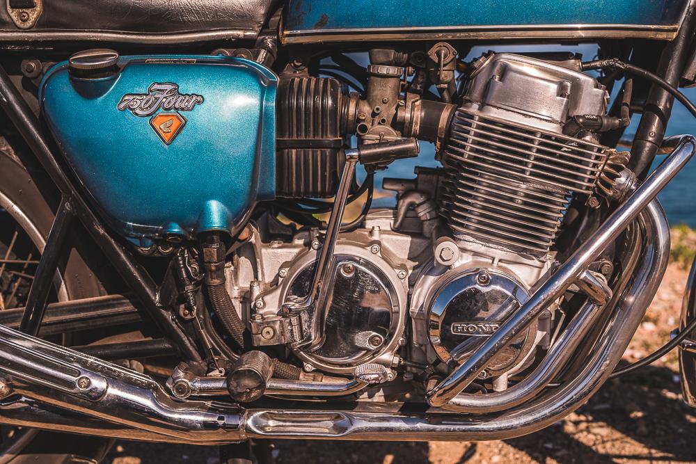 Motor Honda CB 750 SOHC rok 1972