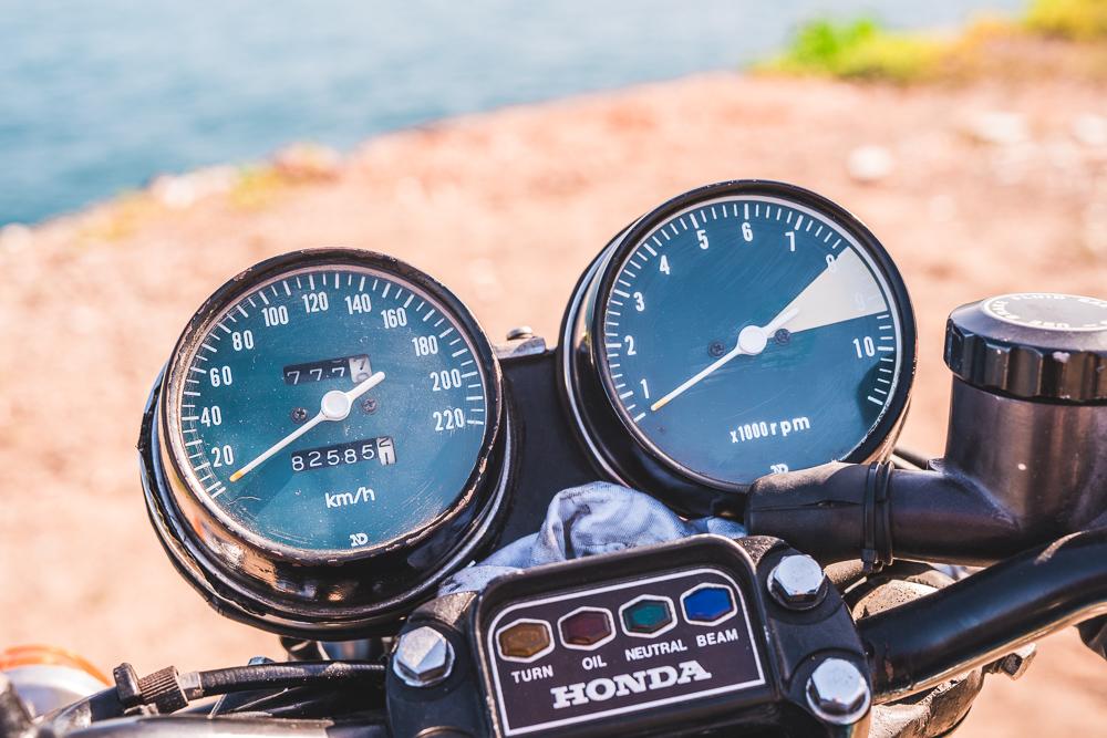 Budíky Honda CB 750 Four 1972
