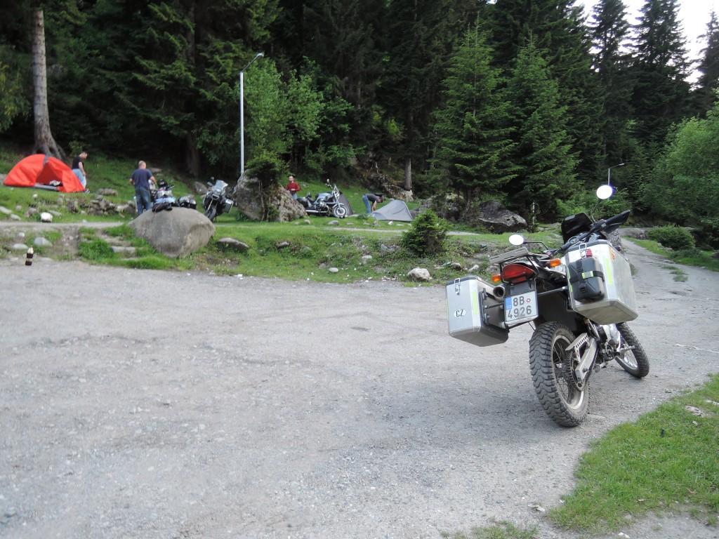 Tábor v Mestii