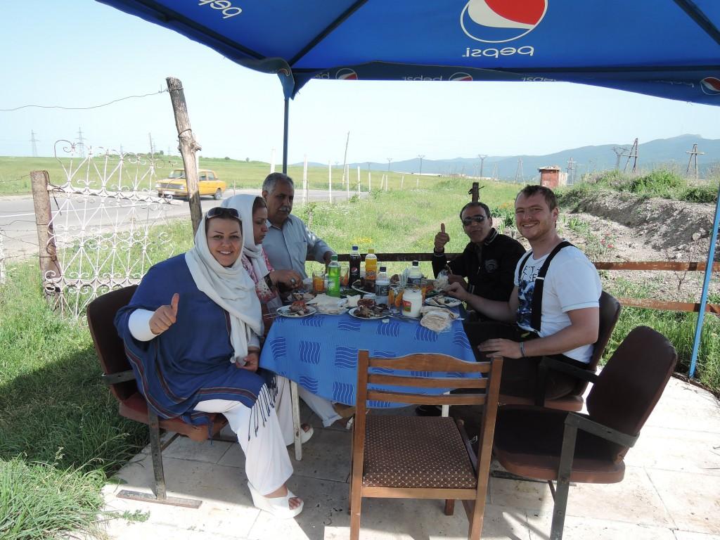Rodina z Iránu