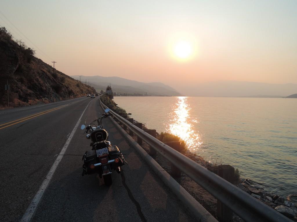 Sunset - Lake Chelan (Washington)
