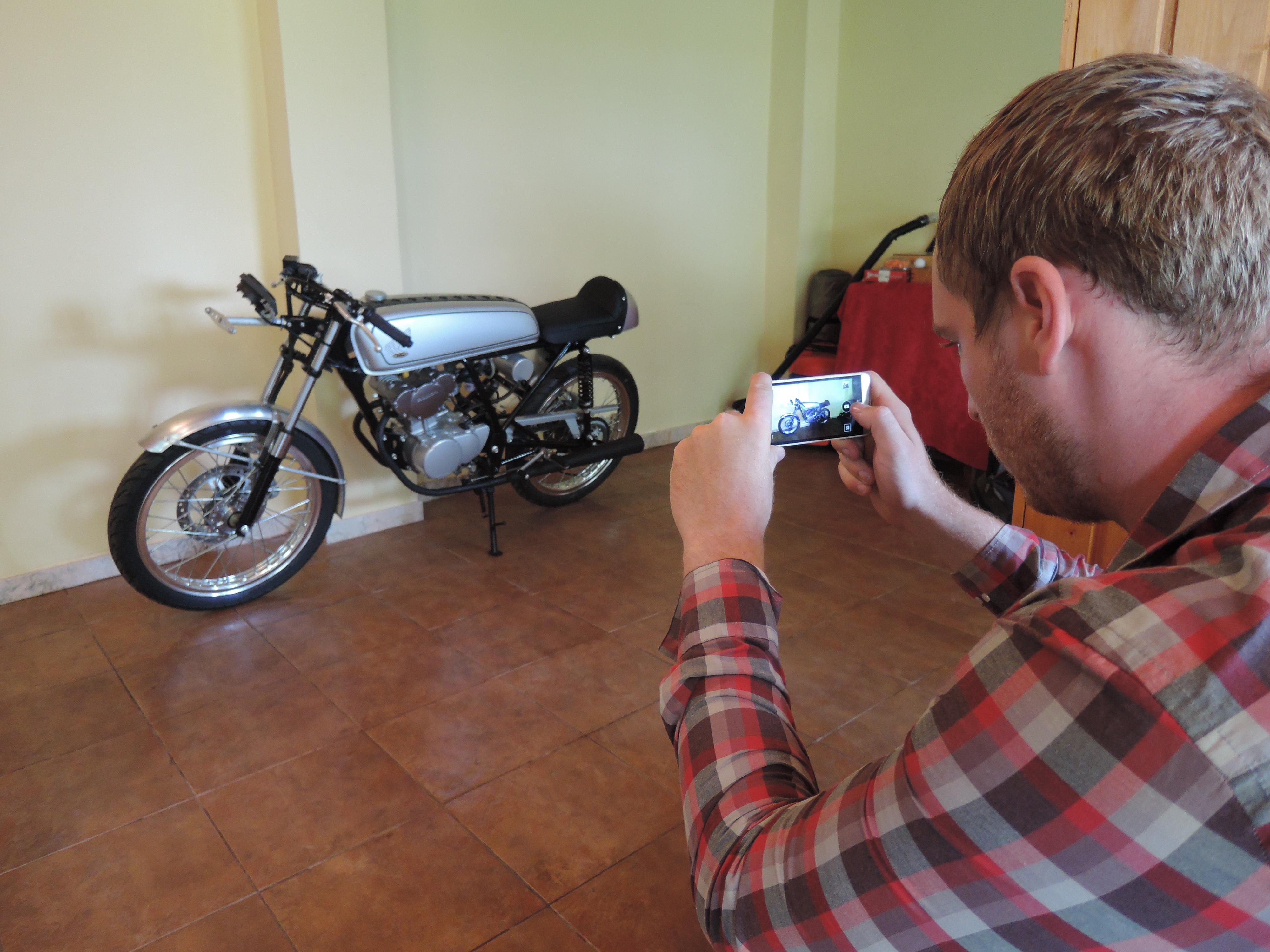 První kontakt s Honda Dream 50R