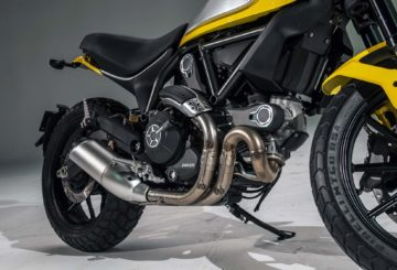 Ducati Scrambler Icon CZ test
