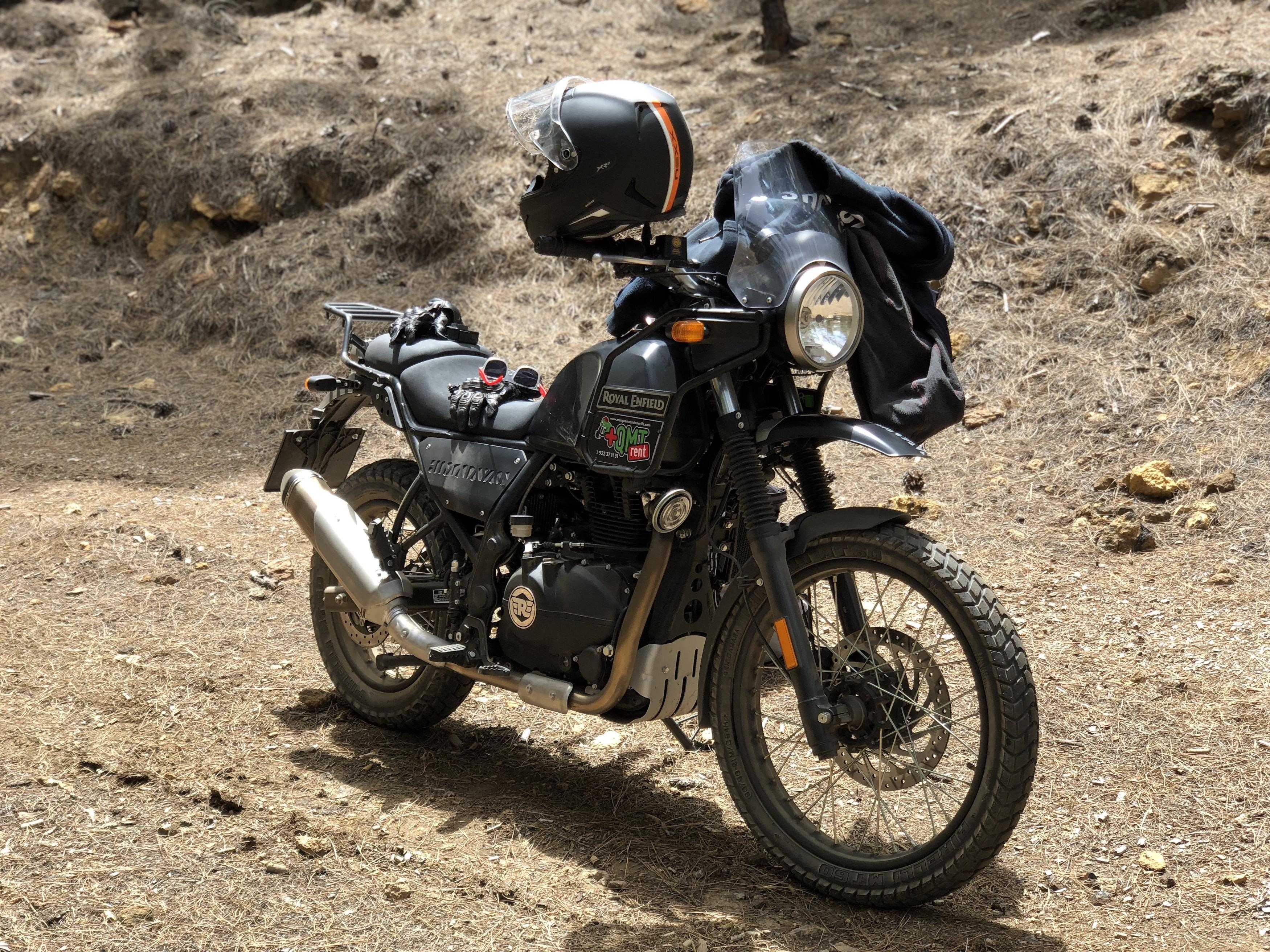 Royal Enfield Himalayan na prvním českém testu v lese