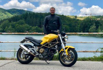 Ducati Monster 900 ie test v češtině