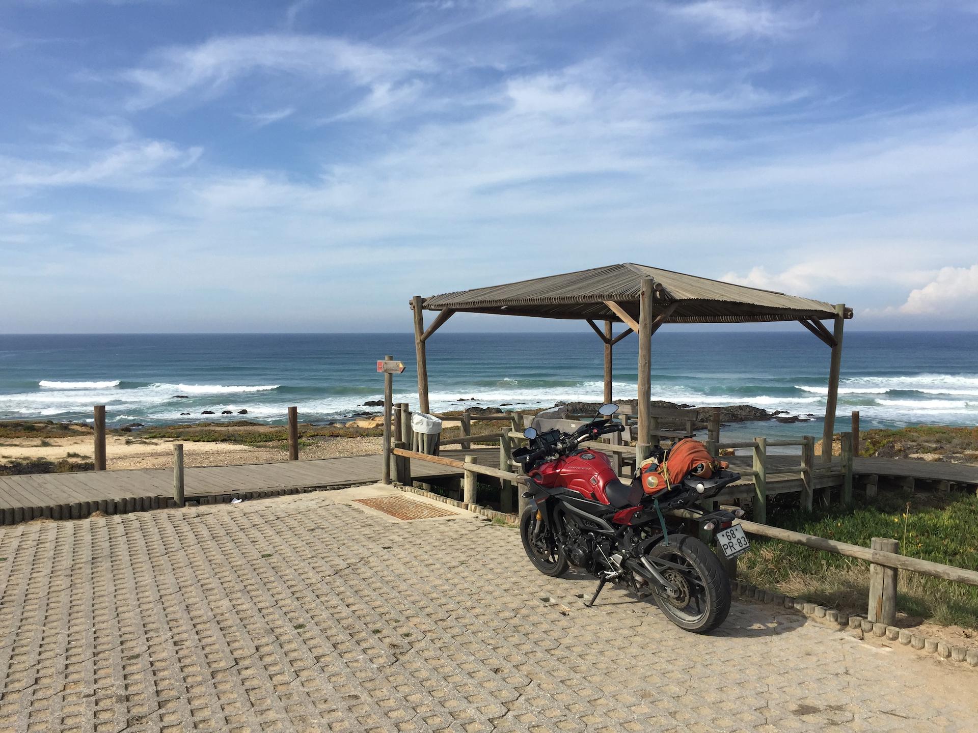 Portugalsko na motorce v listopadu 2016