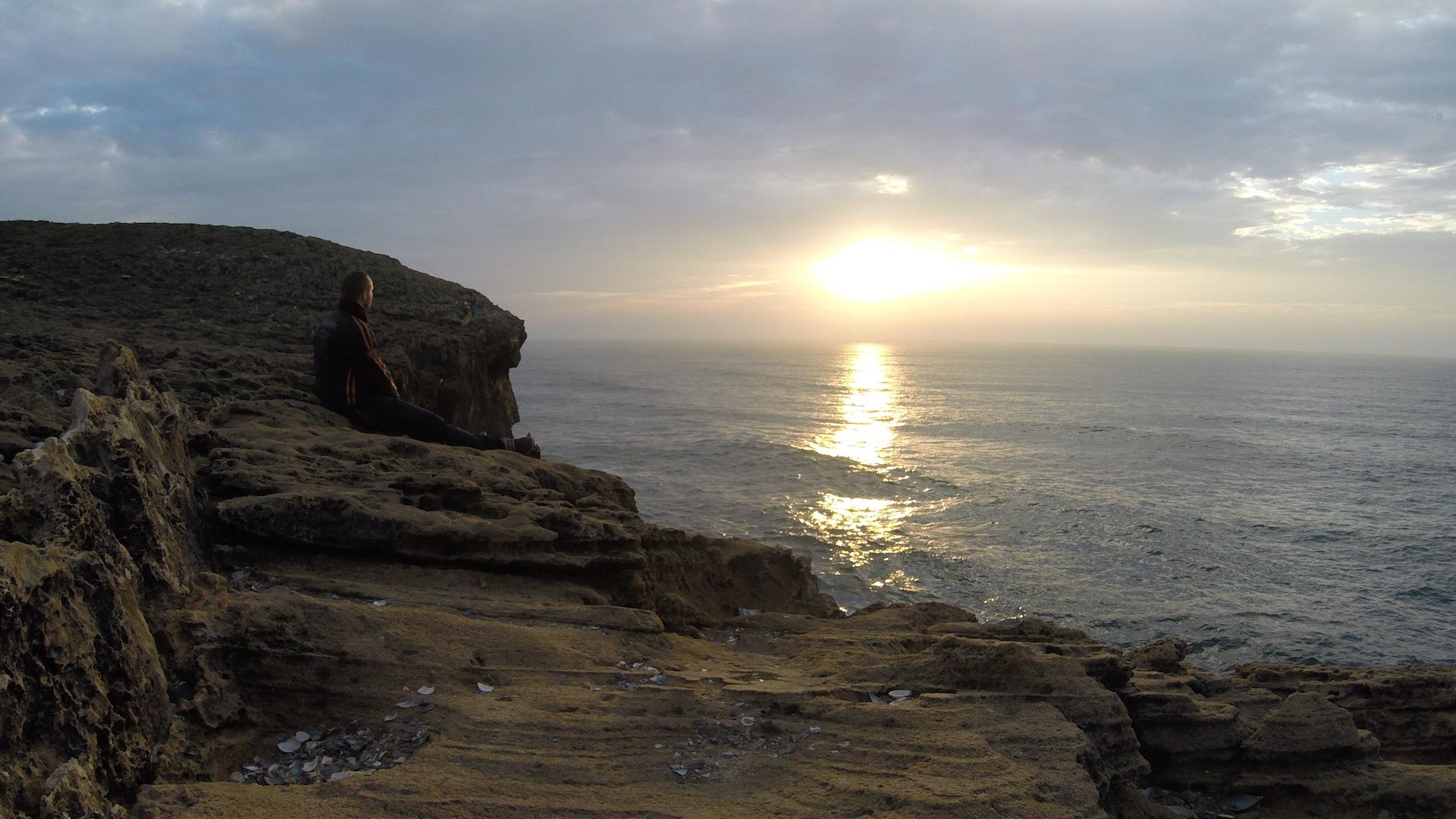 Západ slunce Portugalsko