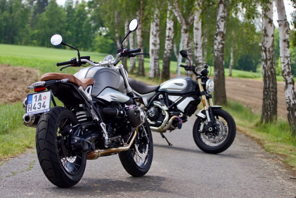 BMW R nineT Scrambler nebo Ducati Scrambler 1100?