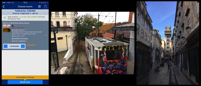 Lisabon na motorce