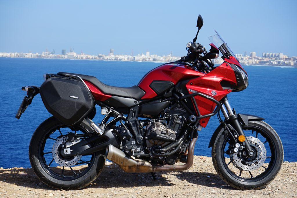 Yamaha Tracer 700 jednoustopou